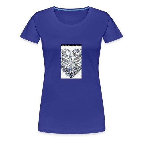 Heart diamond - Women's Premium T-Shirt