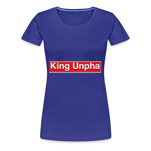 This is the king unpha merch - Women's Premium T-Shirt