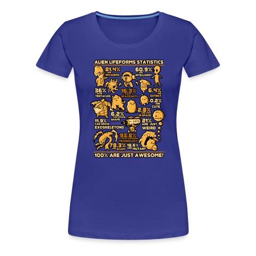 Alien Statistics - Women's Premium T-Shirt