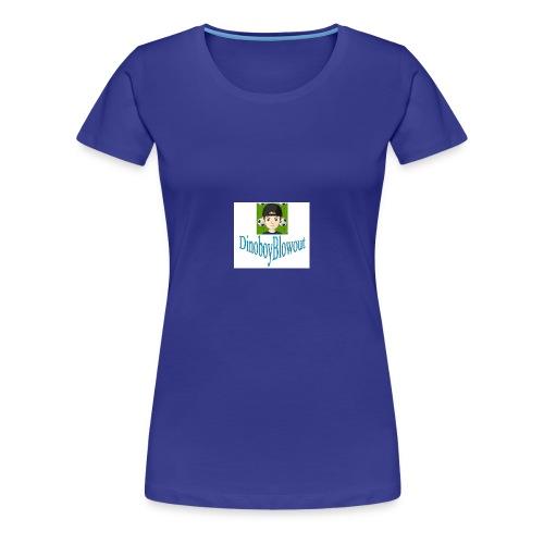 Dinoboy Blowout Logo - Women's Premium T-Shirt