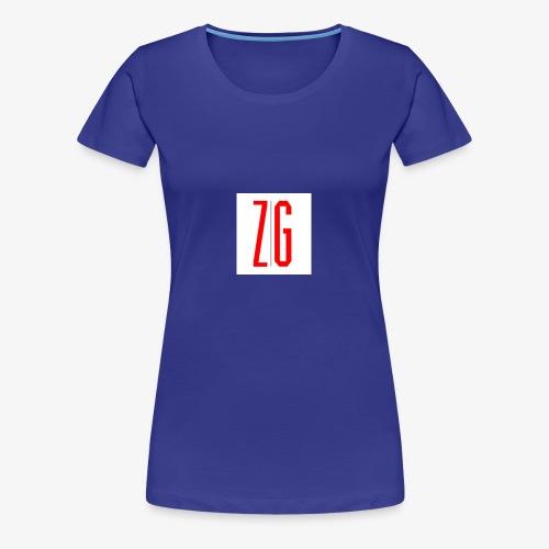 Zero Gravity Logo - Women's Premium T-Shirt