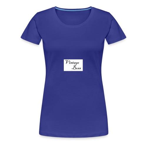 Vintage - Women's Premium T-Shirt