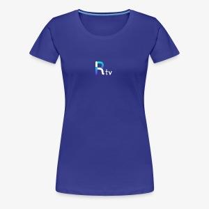 Rtv logo blanco - Women's Premium T-Shirt