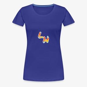 Los Hermanos Logo - Women's Premium T-Shirt