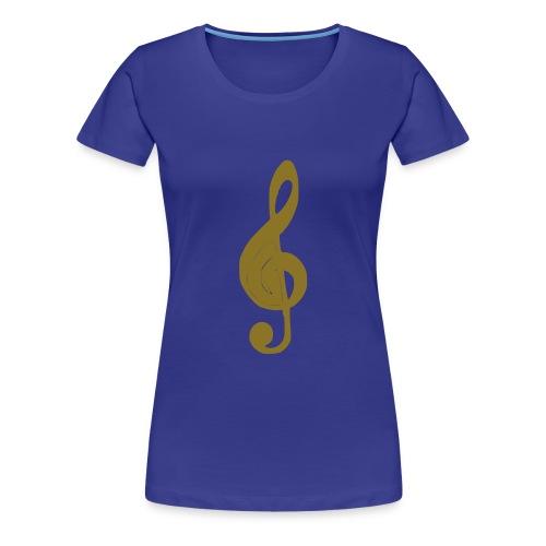 music symbol - Women's Premium T-Shirt
