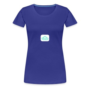 AudiOmega logo - Women's Premium T-Shirt