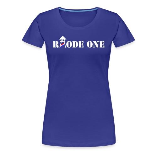 Rhode One logo - Women's Premium T-Shirt