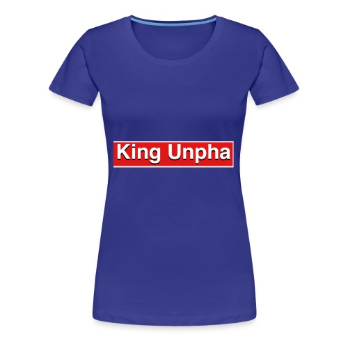 This is the king unpha merch - Women's Premium T-Shirt
