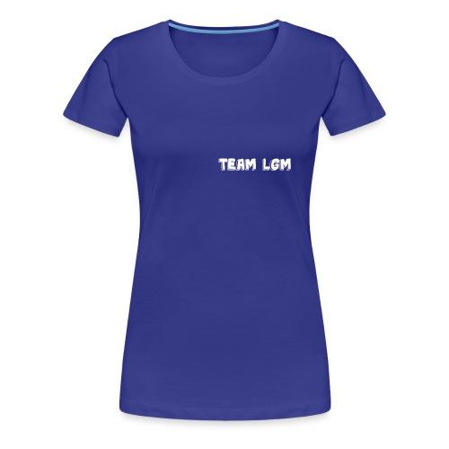 TEAM LGM white - Women's Premium T-Shirt