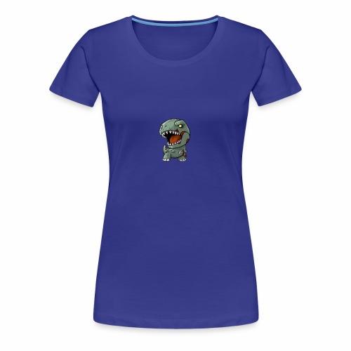 Zombie memeosauraus - Women's Premium T-Shirt