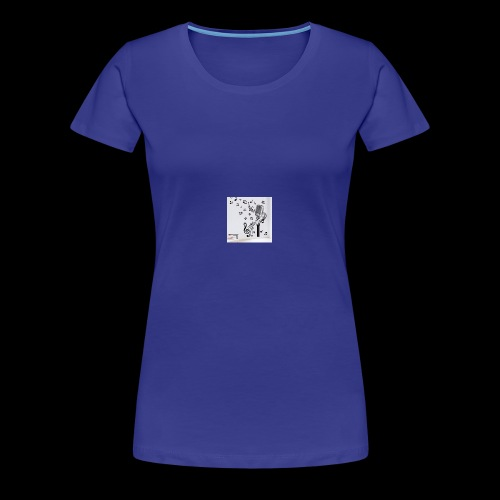 Music Mic - Women's Premium T-Shirt