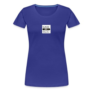 NMM stretching white cat skateboard - Women's Premium T-Shirt