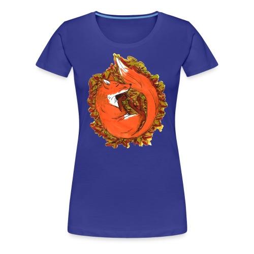 Sleepy fox - Women's Premium T-Shirt