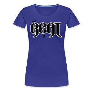 DAMEBEAT - Women's Premium T-Shirt