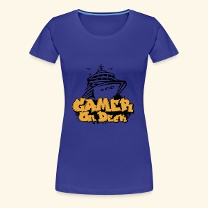 Gamer On Deck Graphic - Version 1-2 - Women's Premium T-Shirt