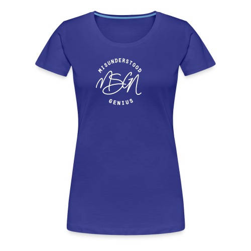 MSGN Logo - Women's Premium T-Shirt