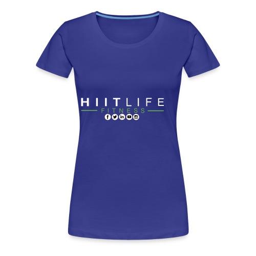 hlfsocialwht - Women's Premium T-Shirt