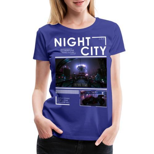 Night City Japan Town - Women's Premium T-Shirt