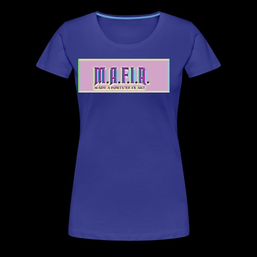 Trippy Mafia Logo - Women's Premium T-Shirt