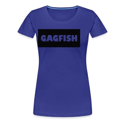 GAGFISH BLACK LOGO - Women's Premium T-Shirt