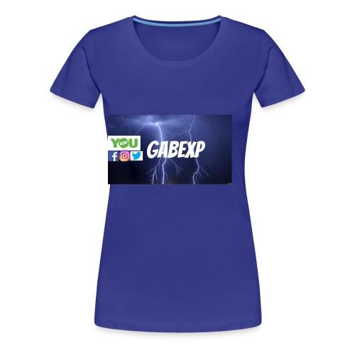 gabexp 1 - Women's Premium T-Shirt