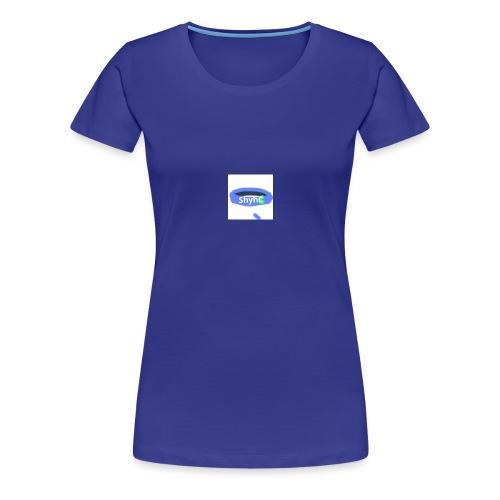 ShyhB (Blue) Wristband - Women's Premium T-Shirt