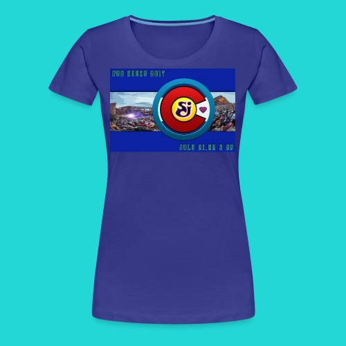 SCI String Cheese Incident Red Rocks 2017 2 - Women's Premium T-Shirt