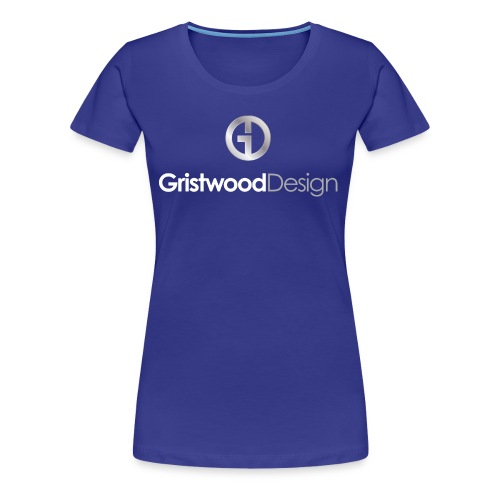 Gristwood Design Logo For Dark Fabric - Women's Premium T-Shirt