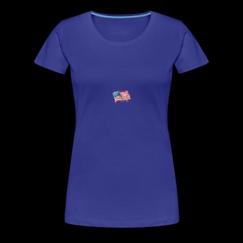 Water Color Pat - Women's Premium T-Shirt