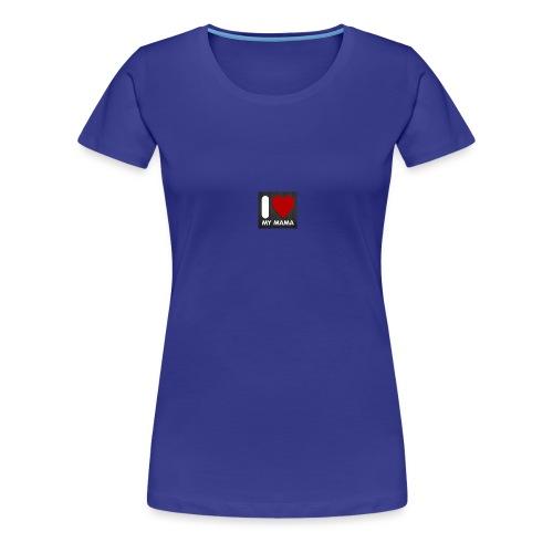 i love mama tshirt created for baby and toddler - Women's Premium T-Shirt