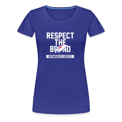 Intangibles Respect the Brand - Women's Premium T-Shirt