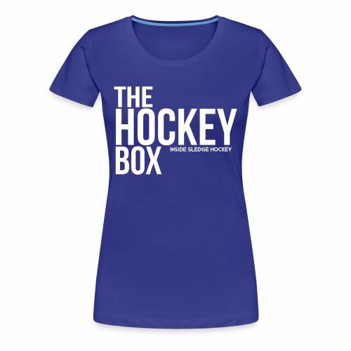 The Hockey-Box Logo - Women's Premium T-Shirt