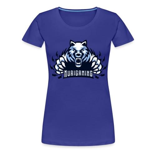 NuriGaming🐺 - Women's Premium T-Shirt