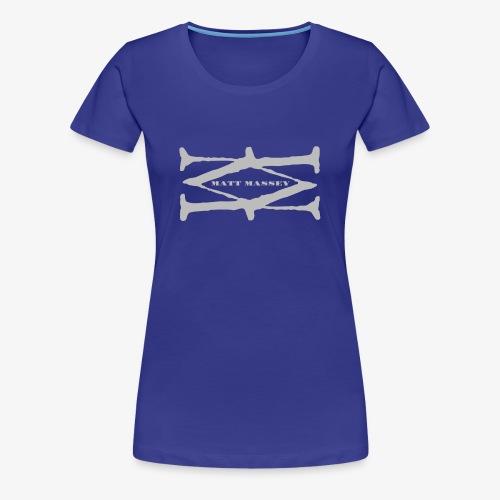 Matt Massey Logo - Women's Premium T-Shirt