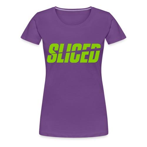 SLICED - Women's Premium T-Shirt