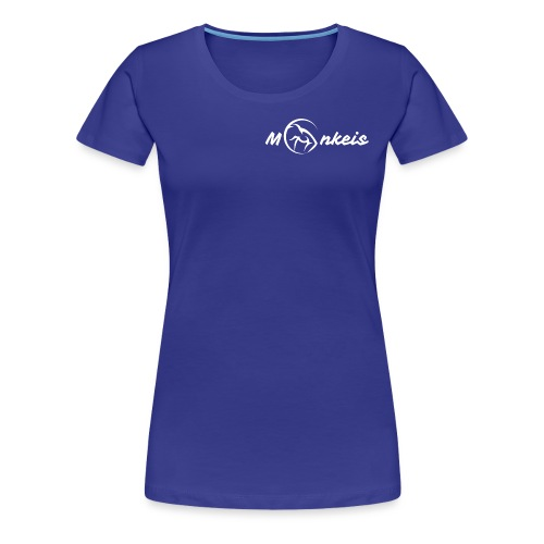 fitness logo white - Women's Premium T-Shirt
