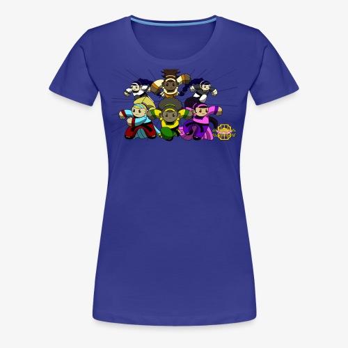 The Guardians of the Cloudgate w/ Logo - Women's Premium T-Shirt