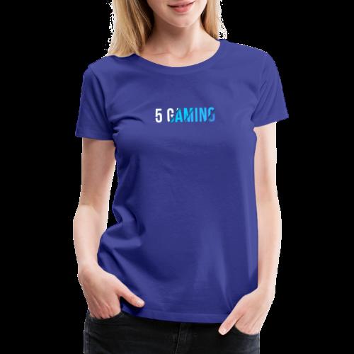 5 Gaming Blue - Women's Premium T-Shirt
