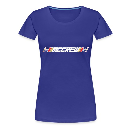 MCCREW back logo - Women's Premium T-Shirt