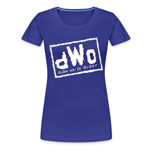 Duke World Order - Women's Premium T-Shirt