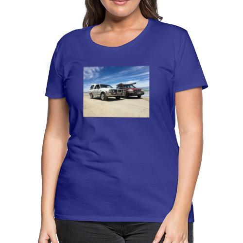 Subaru off roading - Women's Premium T-Shirt