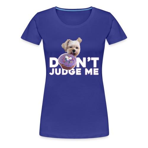 Popeye Don't Judge - Women's Premium T-Shirt