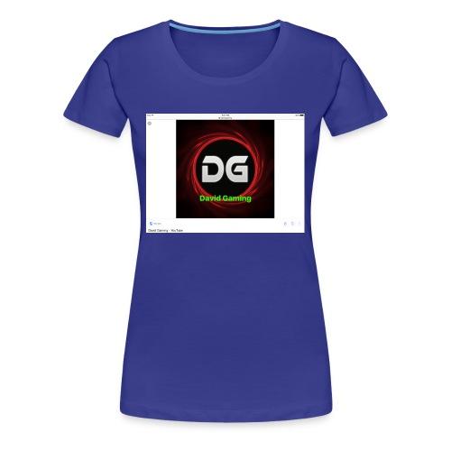 David hoddie - Women's Premium T-Shirt