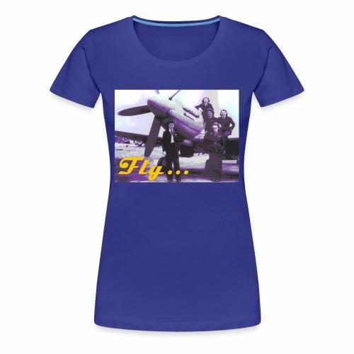 Fly Girls - Women's Premium T-Shirt