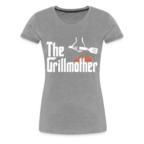 The Grillmother - Women's Premium T-Shirt