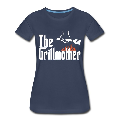 The Grillmother - Women's Premium T-Shirt