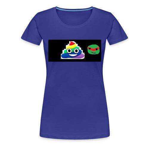 ninja poop - Women's Premium T-Shirt