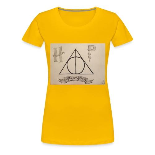 Deathly Hallows - Women's Premium T-Shirt