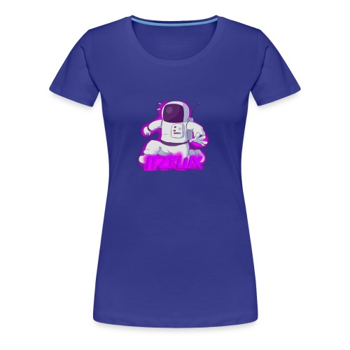 iTzFluX Brand Logo - Women's Premium T-Shirt