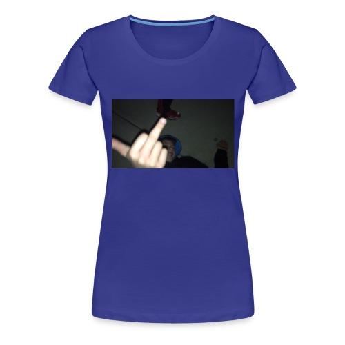 hoodlem giving the finger - Women's Premium T-Shirt
